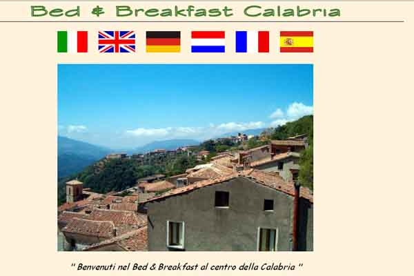 Bed and breakfast in calabria for Bed and breakfast area riservata