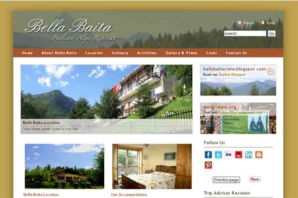 Bed and breakfast in piemonte for Bed and breakfast area riservata