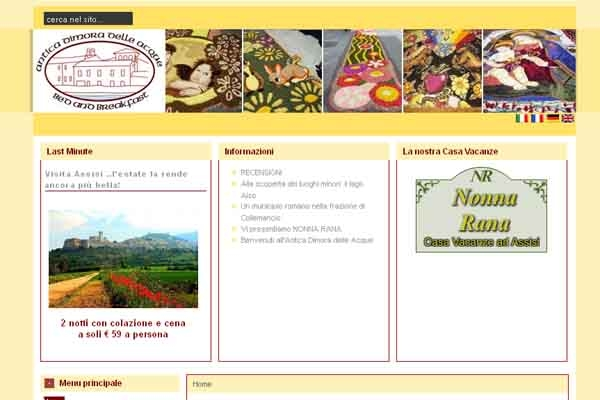 Bed and breakfast in umbria for Bed and breakfast area riservata