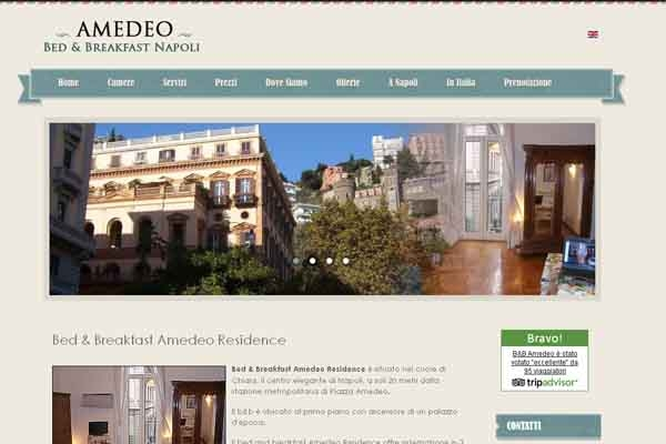 Bed and breakfast in campania for Bed and breakfast area riservata