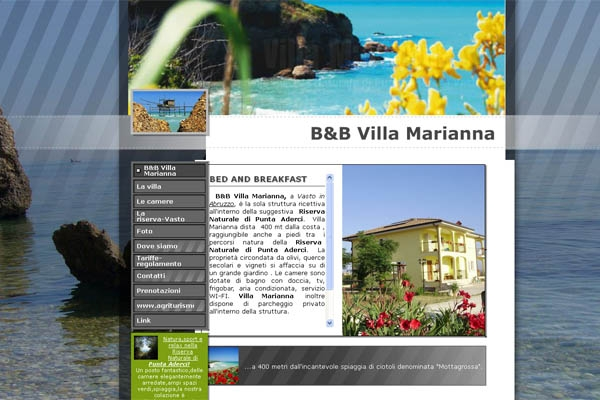 Bed and breakfast in abruzzo for Bed and breakfast area riservata